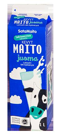Laktoositon kevyt maitojuoma