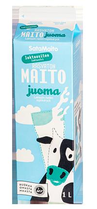 Laktoositon rasvaton maitojuoma