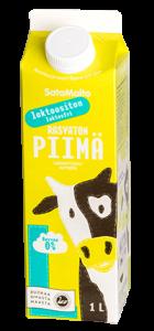 Laktoositon rasvaton piimä