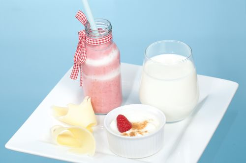 Maitovalmisteannokset