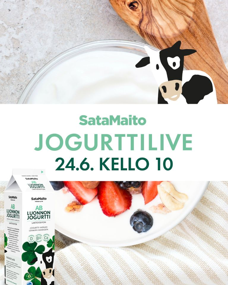Satamaito jogurttilive